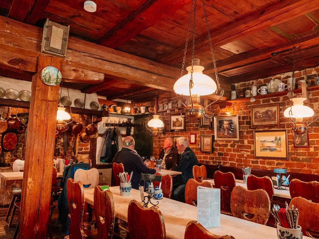 Zum Gulden Stern, Nuremberg's most historic sausage kitchen. It is regarded as one of the best places to eat in Nuremberg.