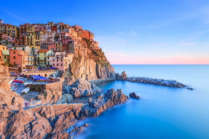 One of the towns of Cinque Terre in Italy