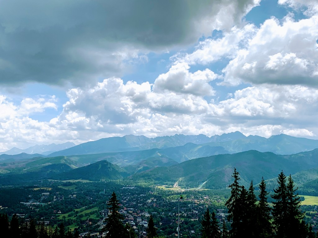 A view of Zakopane, Poland, a great day trip from Krakow