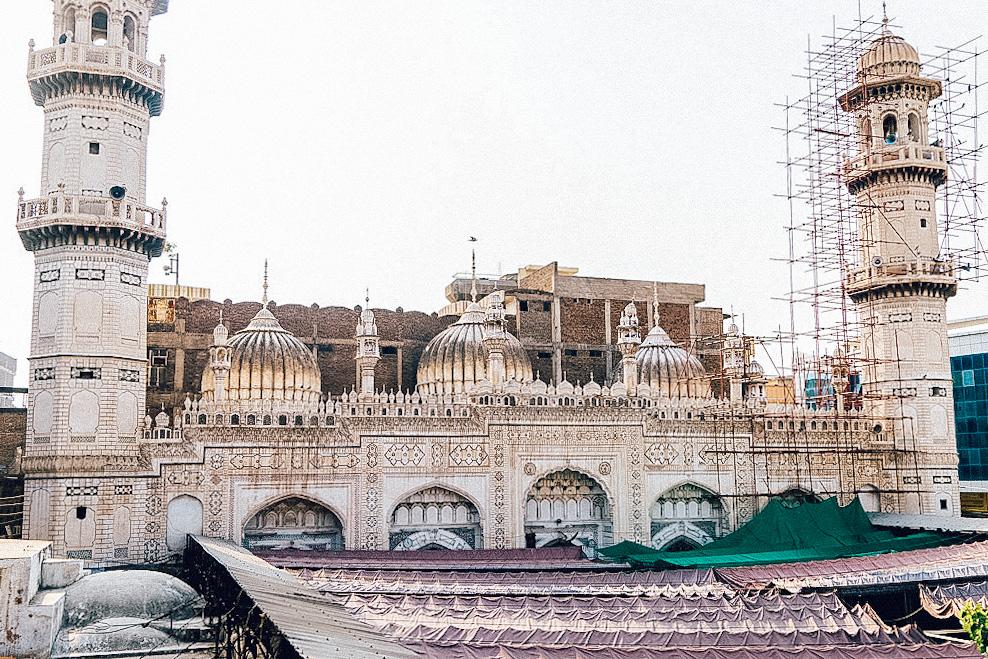 A beautiful mosque in Peshawar, Pakistan