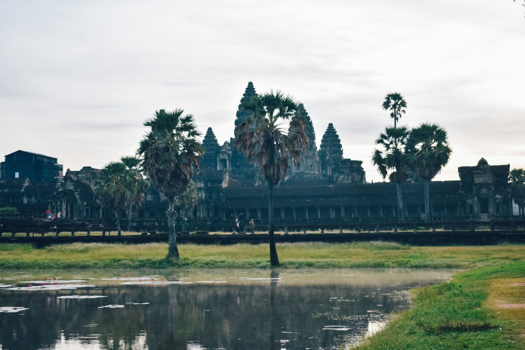 The temple of Siem Reap in Cambodia. When planning budget trips in Asia, Cambodia should be considered.