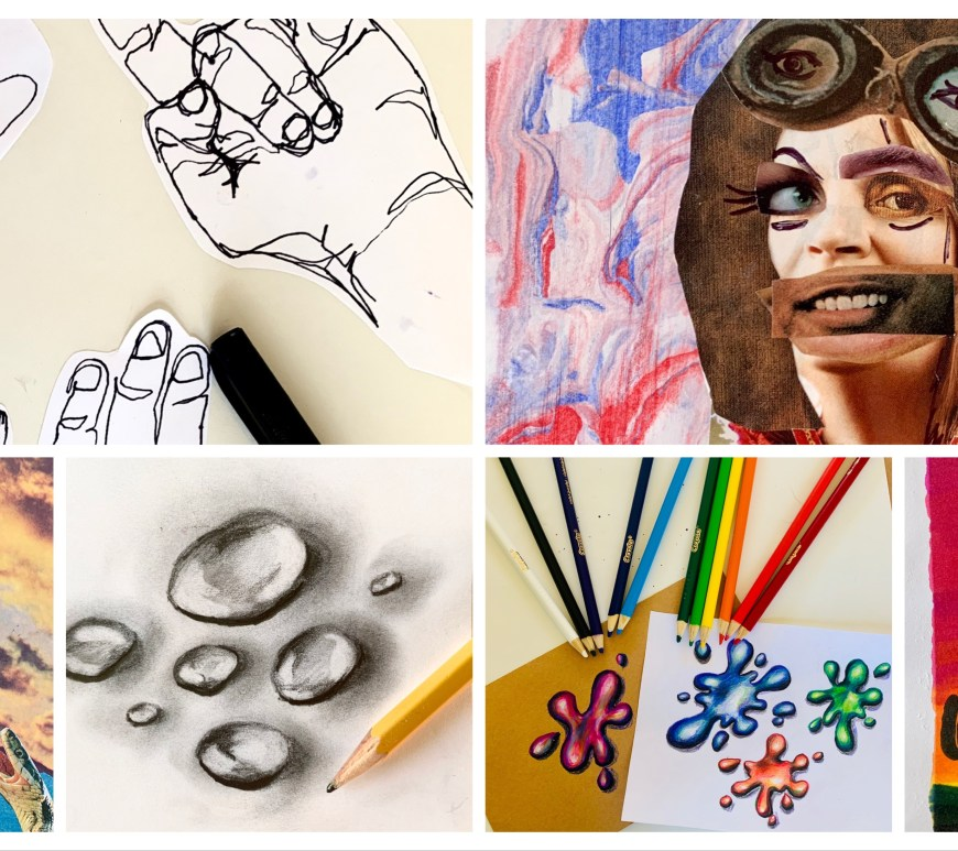Art Distance Learning Ideas