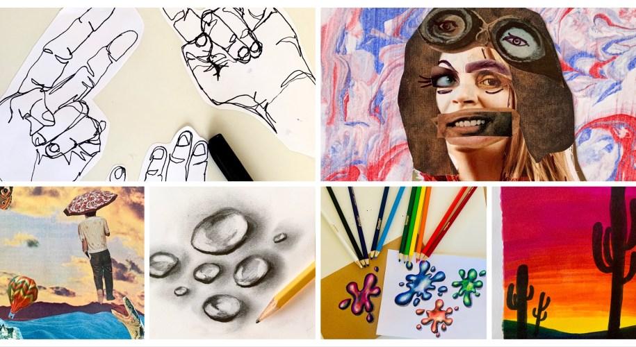 Art Distance Learning Ideas