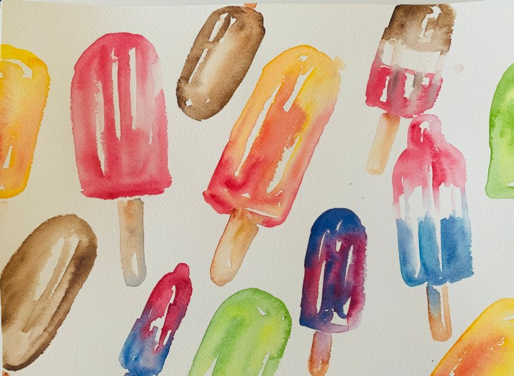 easy-watercolor-Popsicle-painting
