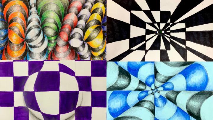 Op Art Tutorials for Beginners