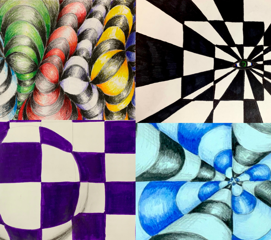 Op Art Tutorials for Beginners