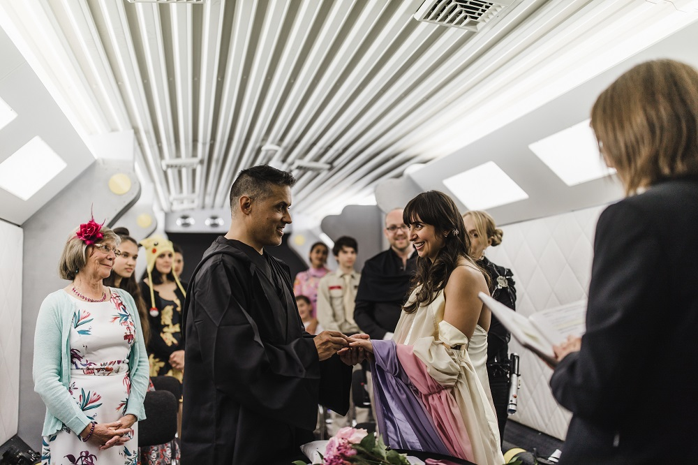 How to choose your wedding venue - national space centre weddings - alternative wedding planner