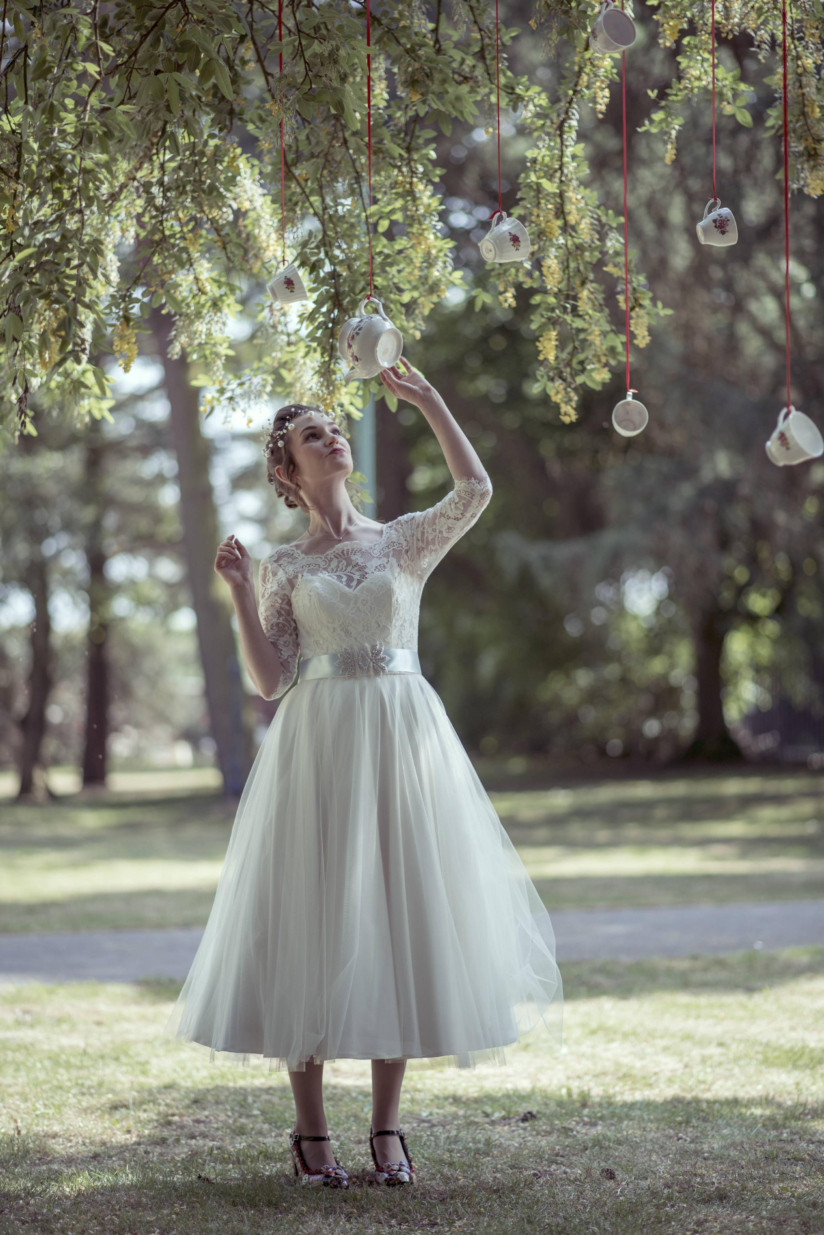 'Vintage meets Alice in Wonderland wedding' - A Mad Hatters Tea Party