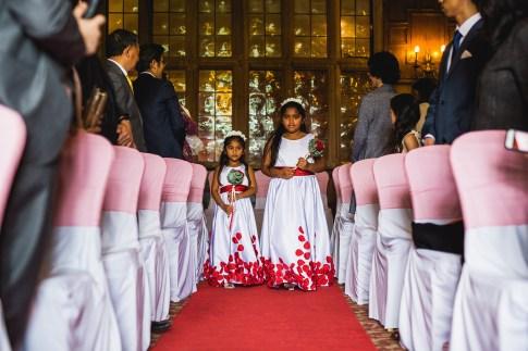 Flower girls - D&H wedding - real wedding inspiration