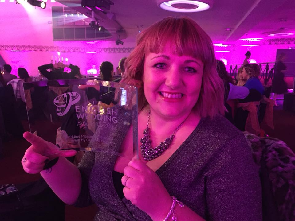 Best wedding planner for the east midlands and overall - english wedding awards