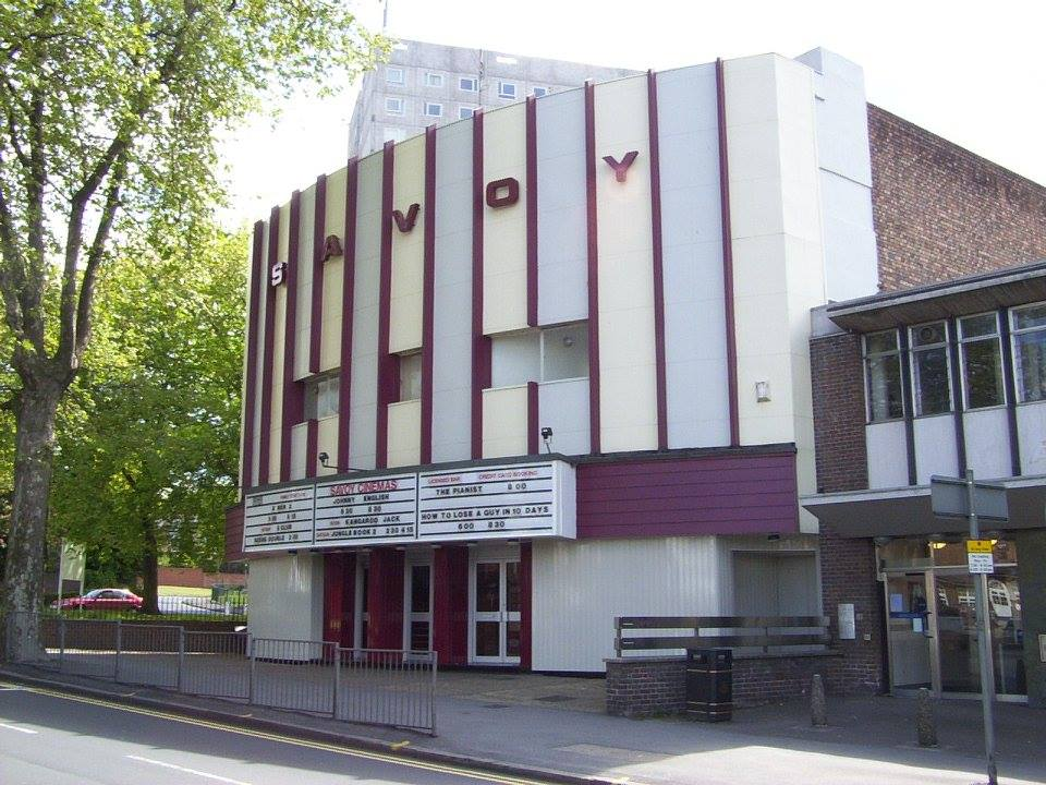 the savoy cinema - screen 1 - alternative and unusual wedding venue - frontage