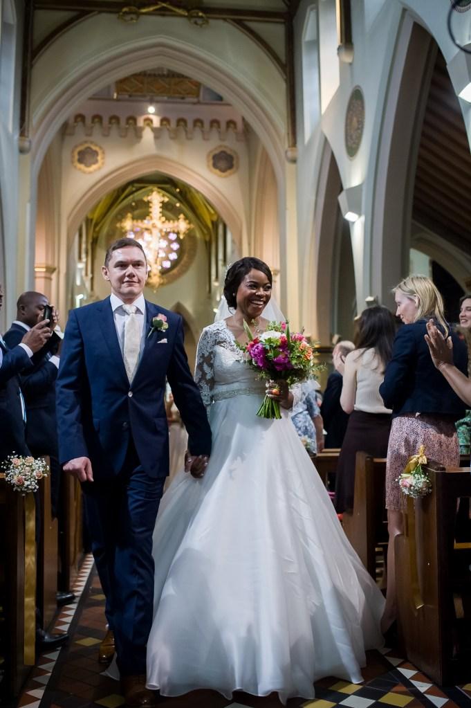 Nottingham Cathedral wedding