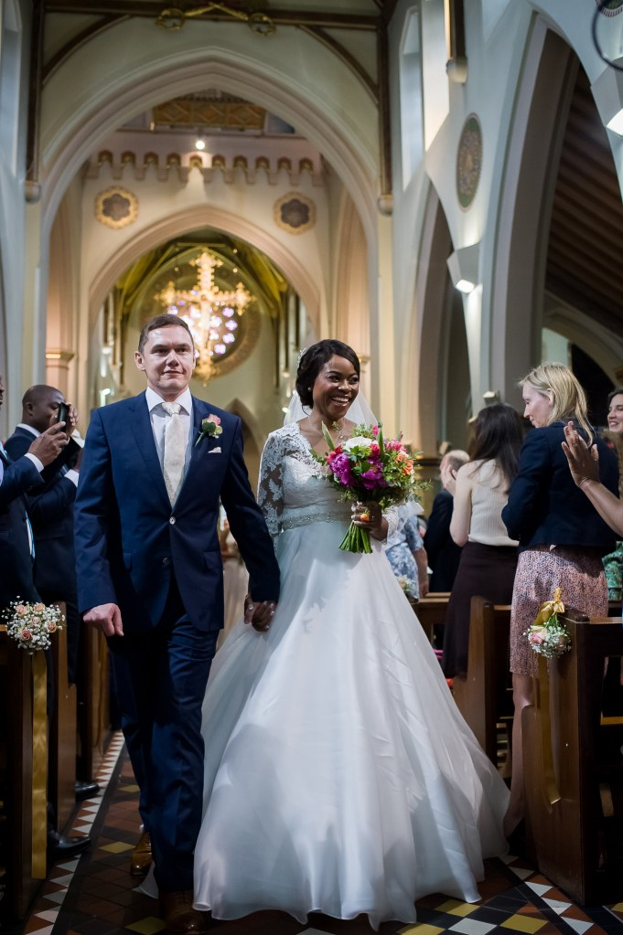 Nottingham Cathedral wedding