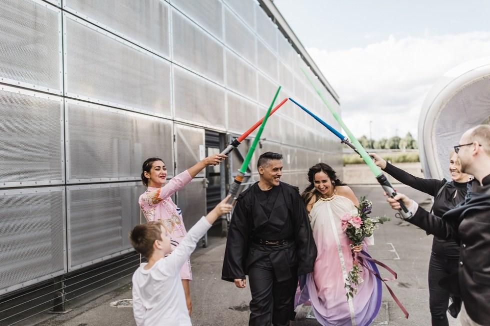 unique, alternative and unusual wedding venue - national space centre - weddings
