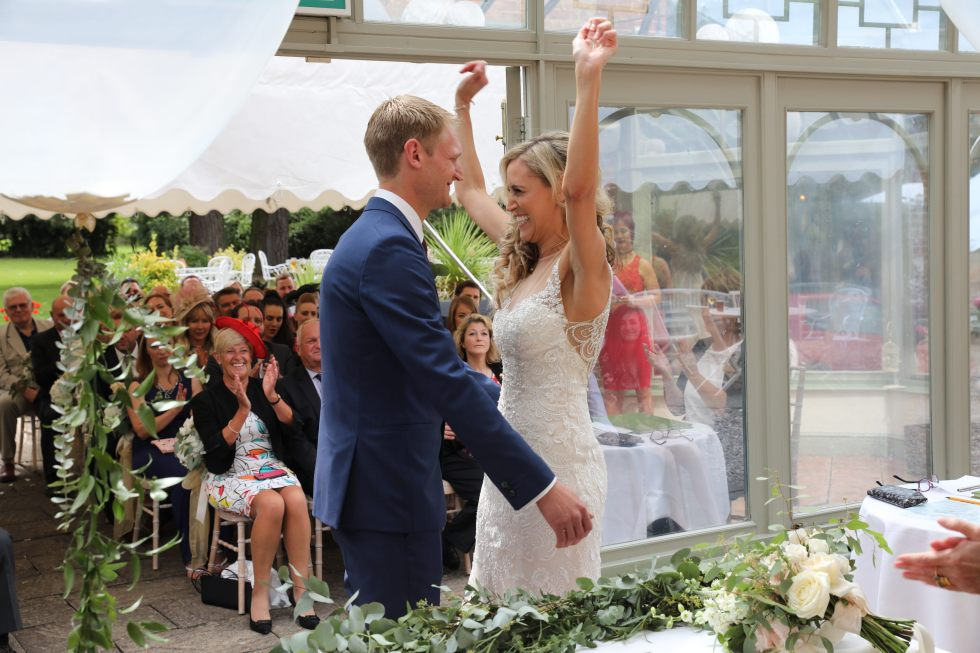 real wedding inspiration - we're married!