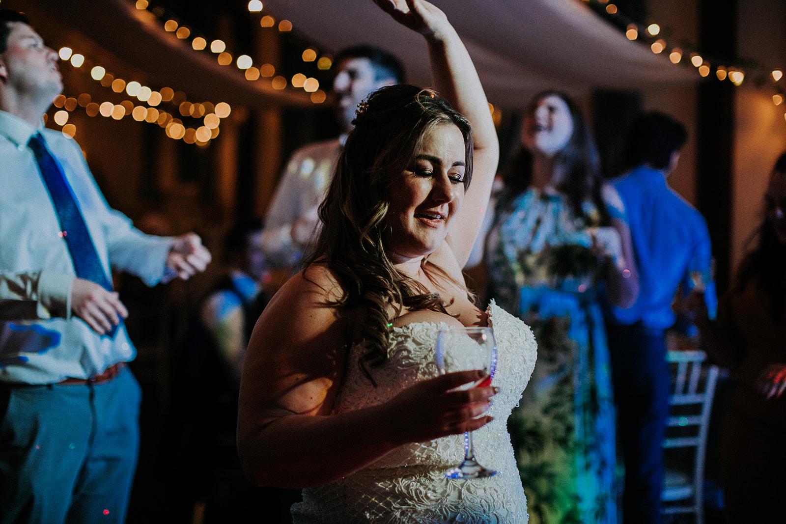 bride dancing - that black and white cat - rutland wedding - fun wedding - east midlands wedding planner - Leicestershire wedding planning - nottingham wedding planning