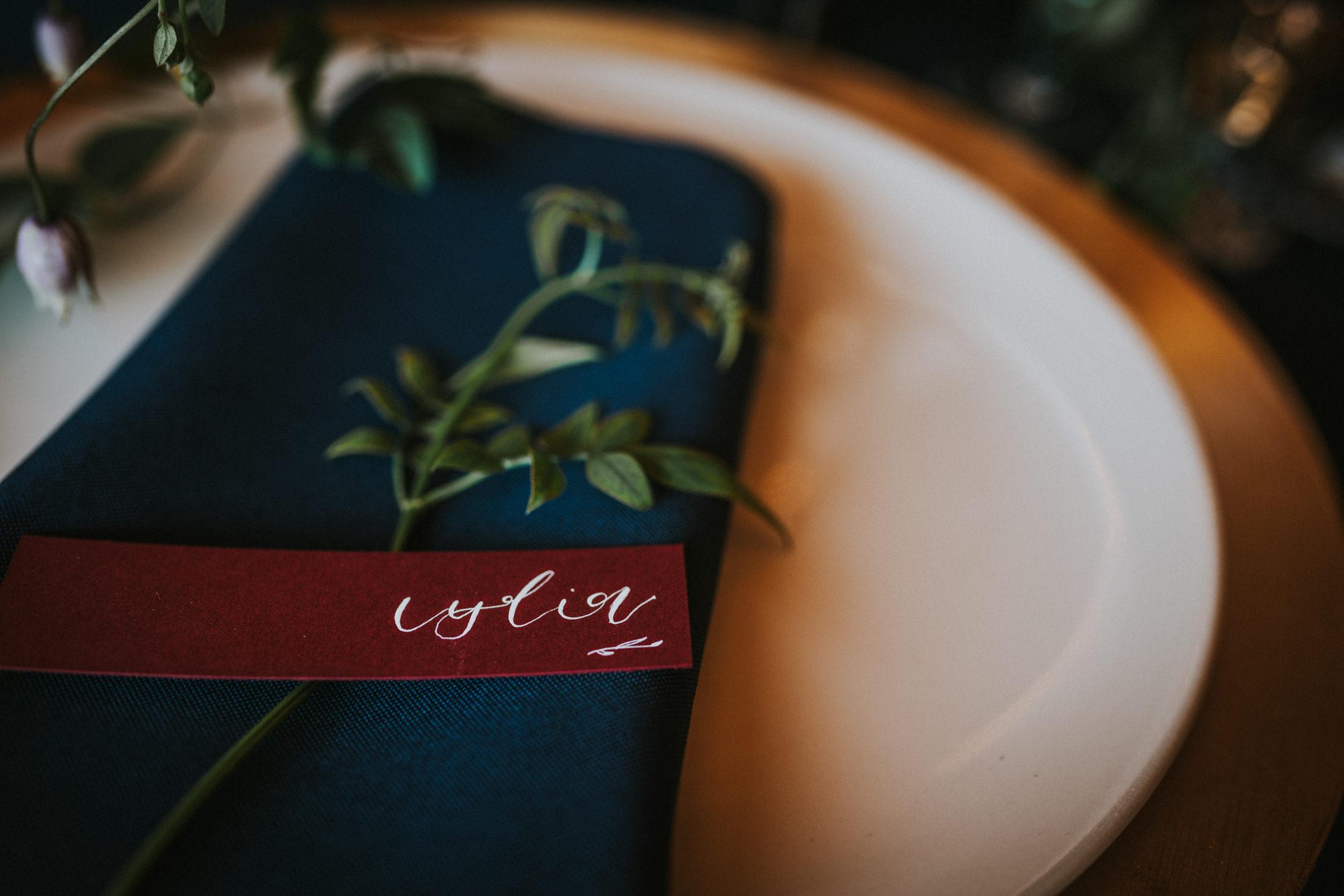 Woodland Wedding - nottingham outdoor wedding venue - east midlands wedding planner - luxurious wedding stationery