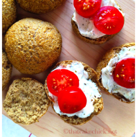 healthy and quick oatmeal rolls