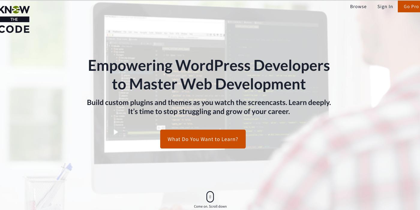 WordPress Development - KnowTheCode.io