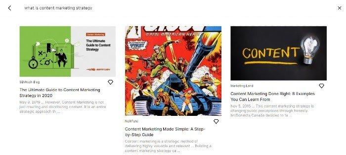 Neil Patel Content on Google Keen