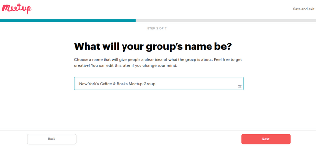 How to choose your group name for your Meetup group