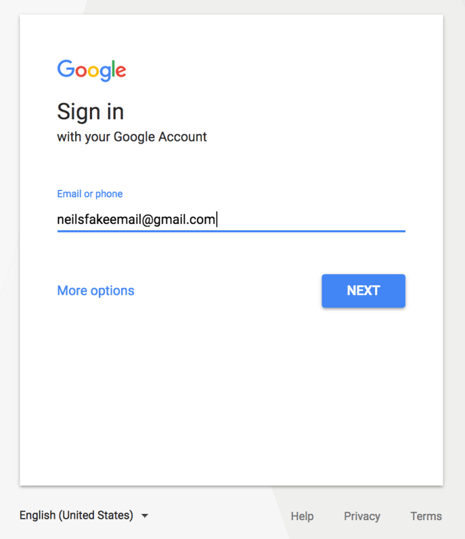 sign up for google to see if your site is indexed
