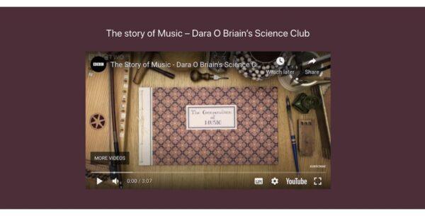 digital story on music youtube block