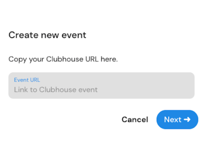Marketing Clubhouse Tools - Comet Events