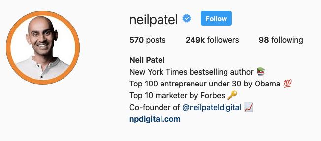 subscriber count - instagram