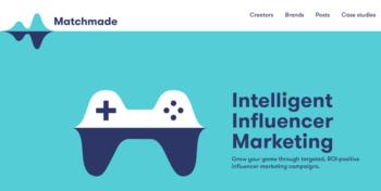 influencer marketing - example network logo