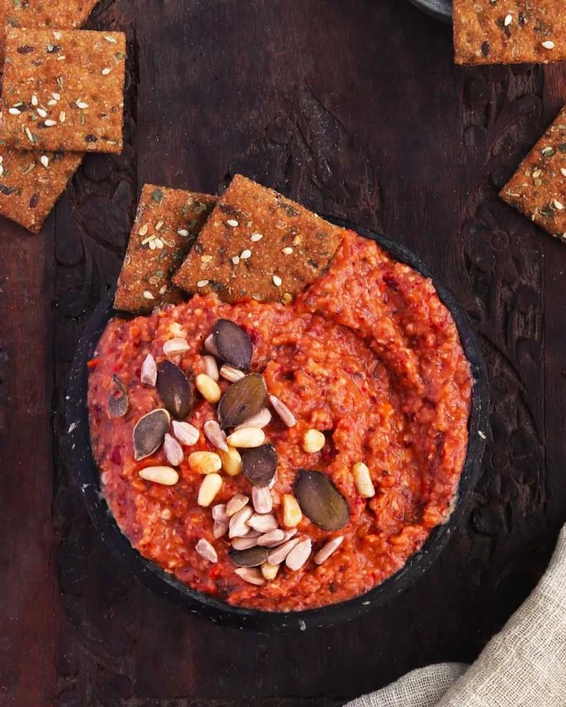 Vegan Tomato Bean Dip