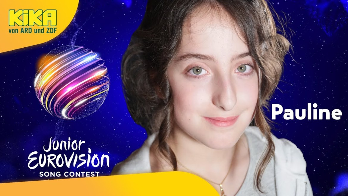 🇩🇪 Pauline to represent Germany at the 2021 Junior Eurovision Song Contest