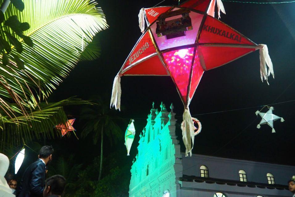 Christmas at Lady Carmel church Arambol Goa