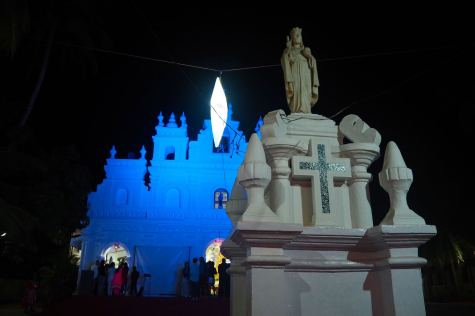 Christmas at Lady Carmel church Arambol Goa3
