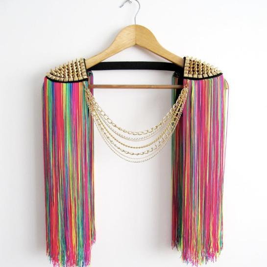 Rainbow Epaulettes