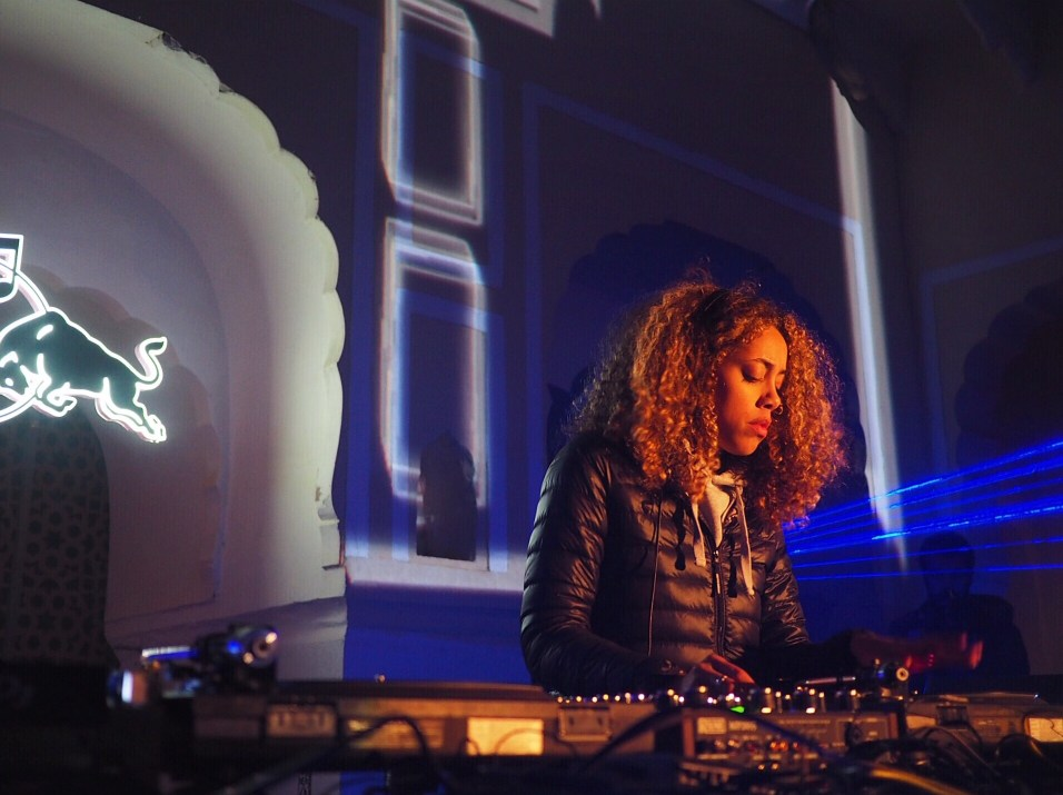 Jayda G at Magnetic Fields Festival Rajasthan India by Georgiana Clark