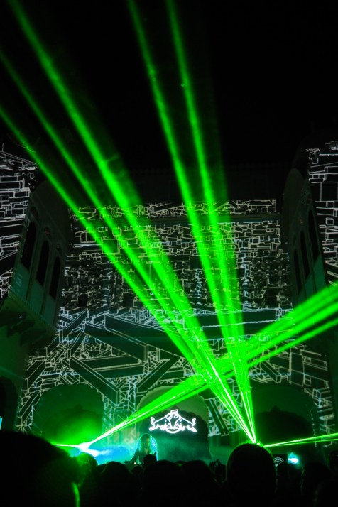 Reach for the lasers!