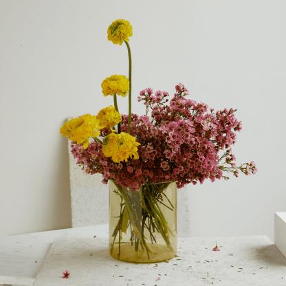 Ranunculus and Waxflower Cloud Bouquet | Valentine's Day | Seasonal Bouquet