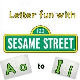 Links to Sesame Street letter songs and podcasts on YouTube – Letters Aa-Ii!