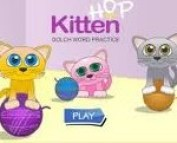 ABCya Kitten Hop Sight Words