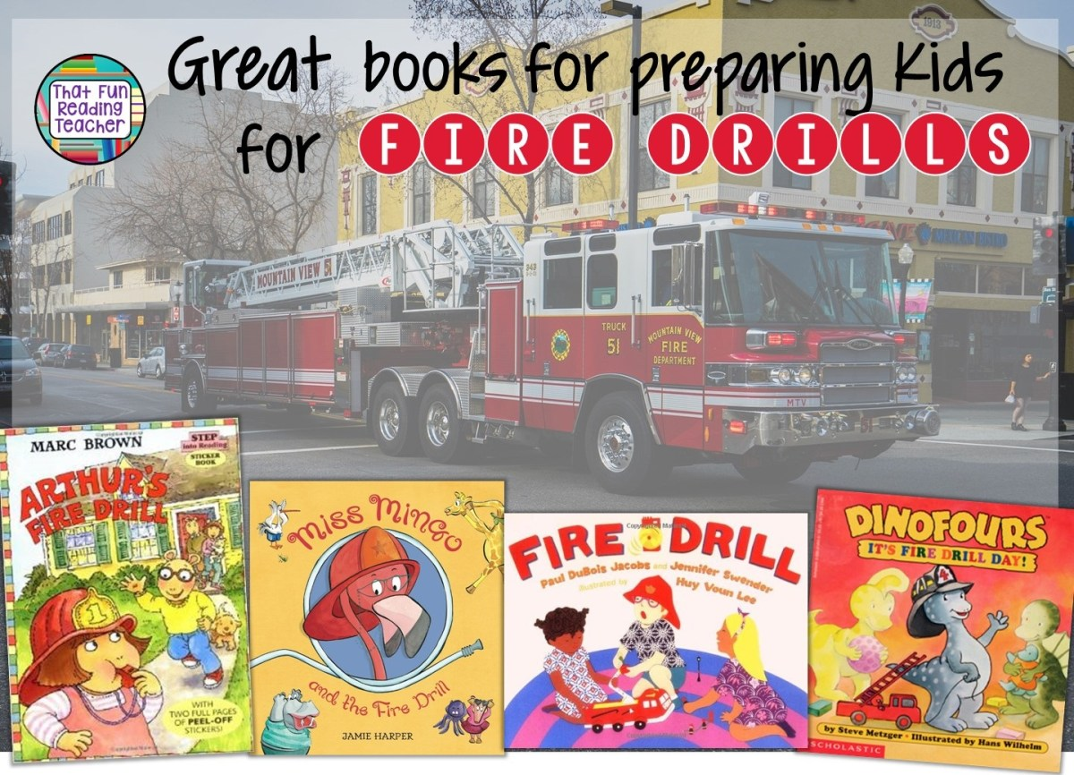 Great books for preparing kids for Fire Drills