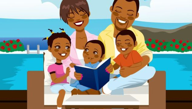 Happy Family Day, great site for boys books and a word about bedtime stories from J.K. Rowling