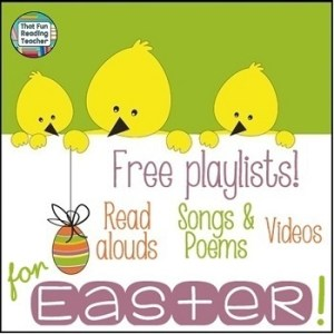 Easter playlists | That Fun Reading Teacher.com