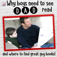 Why boys need to see Dad read