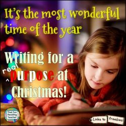 Writing for real purposes – at Christmas!