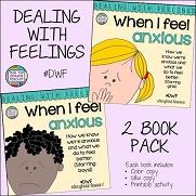 When I feel anxious 2 pack