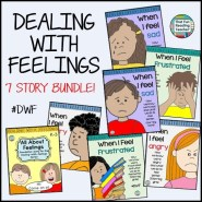 Dealing-With-Feelings - The 'how to manage tricky feelings' stories for kids $