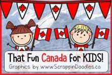 That Fun Canada For Kids - Pinterest Board