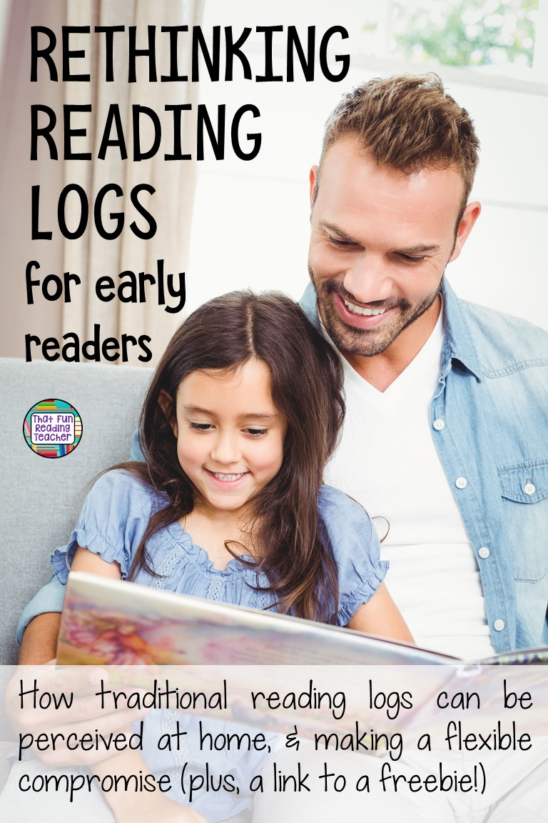 Rethinking Reading Logs for young readers - How traditional reading logs can be perceived at home, and making a flexible compromise! Read on for more info and links to freebies! #earlychildhoodeducation #readingforjoy #kindergarten #1stgrade #teachersknow #thatfunreadingteacher