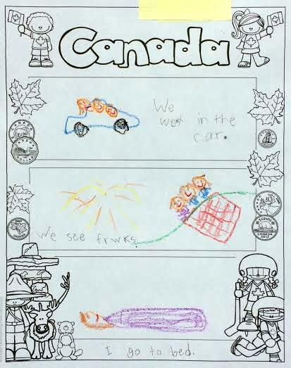 Canada Read and Write and More - Graphic Organizer